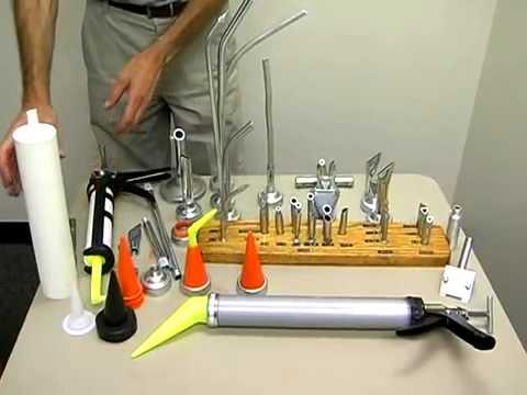 Nozzles For Caulk Gun Youtube