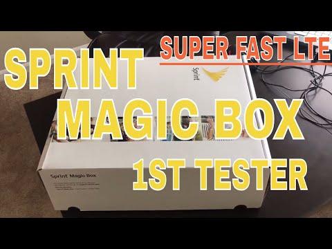 SPRINT MAGIC BOX!! I'm the 1st!!!
