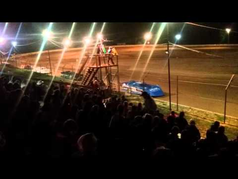 Indiana Late Model Heat 3  Chandler Motor Speedway