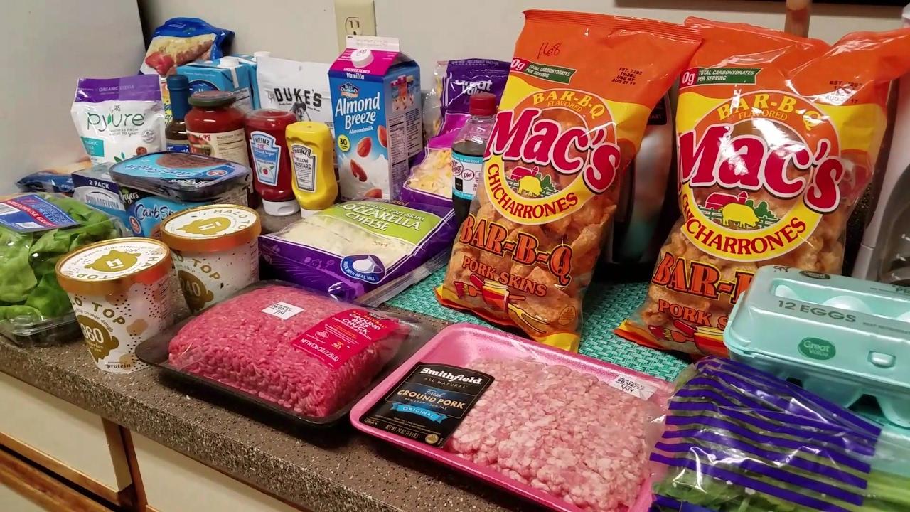 keto foods available at walmart