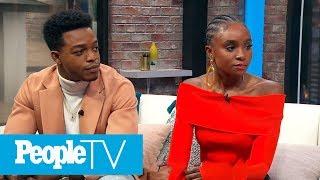 'If Beale Street Could Talk!' Stars Kiki Layne & Stephan James Dish On Their New Movie | PeopleTV