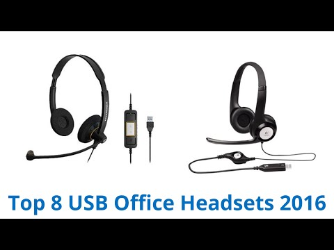 8 Best USB Office Headsets 2016