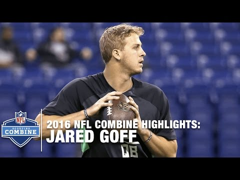 Jared Goff (California, QB) | 2016 NFL Combine Highlights