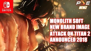 "Video Monolith Soft ""Global Focus"" Title Has a Different Brand Image, Attack of Titan 2 & MORE! 