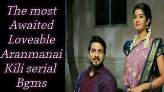 The most awaited ARANMANAI KILI serial bgm collections 🎶