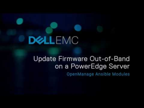 Out-of-band firmware update on a PowerEdge server using OpenManage Ansible  Modules