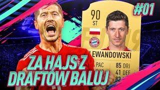 *WOW* TESTUJEMY LEWANDOWSKIEGO! / FIFA 19 ZA HAJS Z DRAFTÓW BALUJ [#1]