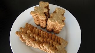 Oats And Wholewheat Biscuits / Biscoitos De Aveia / 燕麦全麦饼干