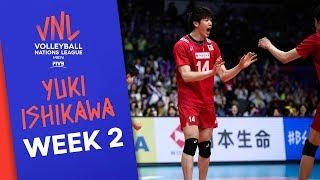 Yuki Ishikawa plays it clever & creative - 28 pts. vs. Argentina | Volleyball Nations League 2019