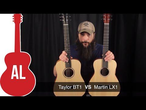 Martin LX1 vs Baby Taylor - A Travel Guitar Comparison