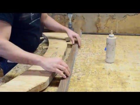 travail du bois cintrer du bois en lamell coll be. Black Bedroom Furniture Sets. Home Design Ideas