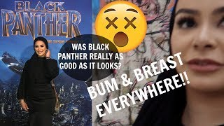 FOLLOW ME AROUND LONDON: I WATCHED BLACK PANTHER!