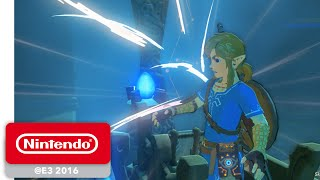 The Legend of Zelda: Breath of the Wild - Shrine of Trials Gameplay Part 1/4 - Nintendo E3 2016