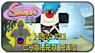 Roblox Shinobi Life - Comment Chakra Run