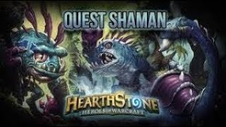 (Hearthstone) Quest Murloc Shaman | Witchwood | Season 50(May 2018) Post Nerf