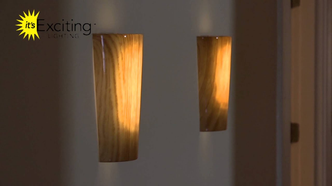 Wall Sconce Collection Burlwood Cherry By It S Exciting Lighting