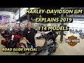 Harley-Davidson 2019 Milwaukee Eight 114 Touring Models Explained