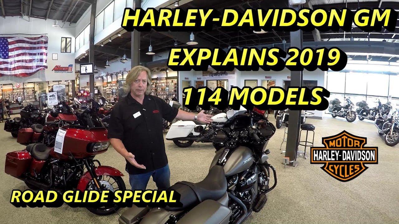 Harley-Davidson 2019 Milwaukee Eight 114 Touring Models ...