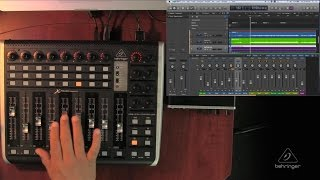 X-TOUCH COMPACT How To - Functionality with Logic Pro X