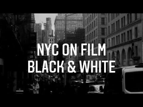 NYC On 35mm Film   B&W