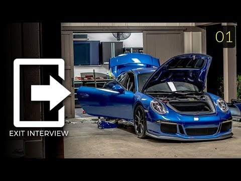 My Sapphire Blue GT3 Exit Interview:  Episode 1