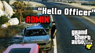 Fake Kid Cop Approaches Server Admin! (GTA RP)