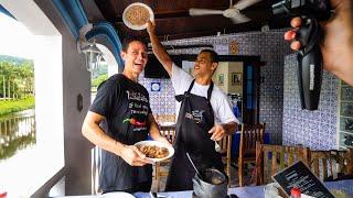 Very Unique BRAZILIAN BANANA Meat Stew (Barreado) + Train Ride to Morretes, Brazil!