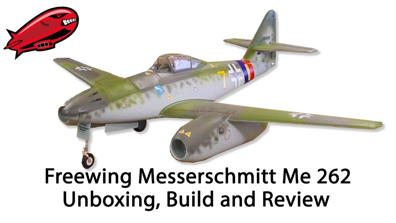 Freewing Messerschmitt Me 262 Review