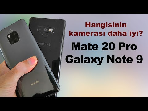 Huawei Mate 20 Pro ve Samsung Galaxy Note 9 kameralarını karşılaştırdık