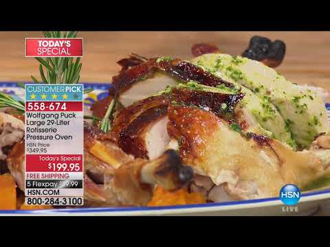 HSN | Chef Wolfgang Puck 10.07.2017 - 04 PM