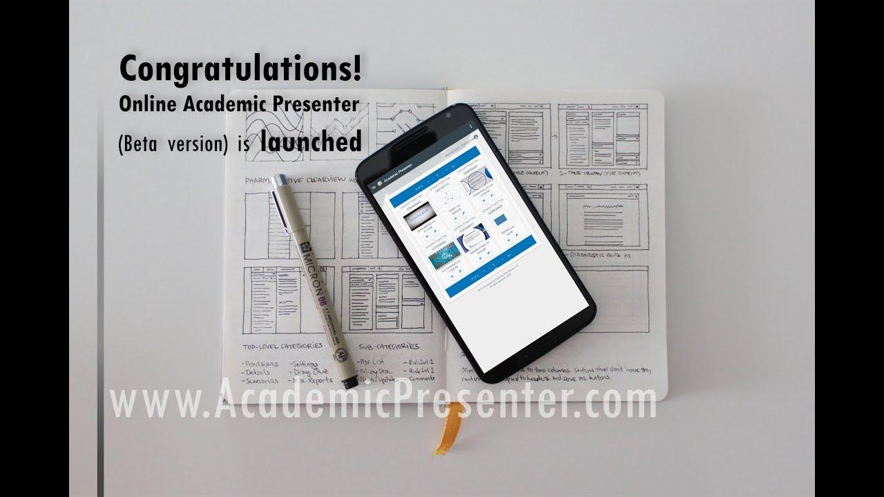 lecture 24 online academic presenter