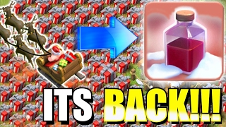 "WORLD RECORD HOLDER!?!🔸HOLDING THE SPELL ""Santa Strike""!!!🔸Clash of clans"
