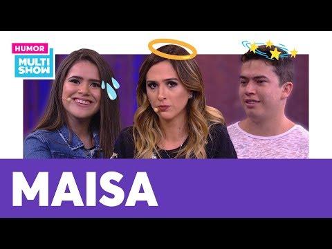 Maisa Ou Whindersson Nunes? Tatá Werneck Faz QUIZ Hilário 😂 | ESQUENTA LADY NIGHT | Humor Multishow