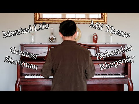 the best piano medley of popular songs you'll ever hear