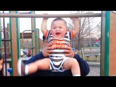 Funny Baby Doing Exercise Moments 🏋️♀️ Funny Cute Video