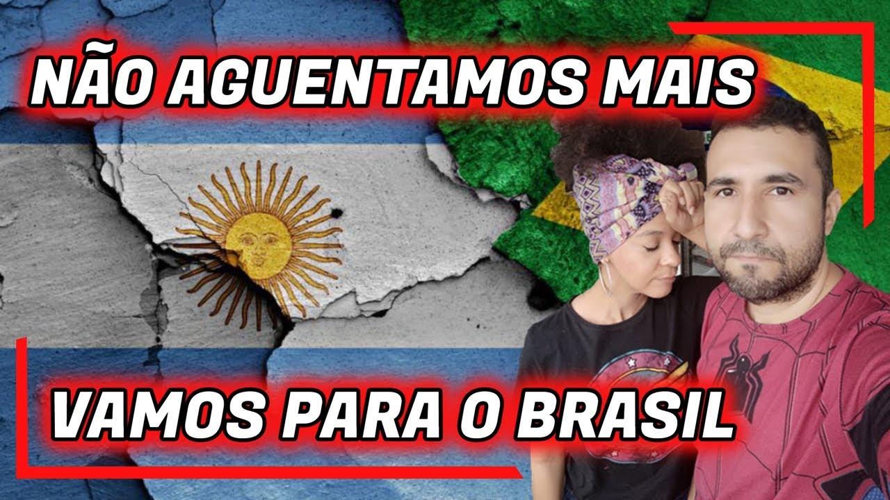 NÃO AGUENTAMOS MAIS! VOLTANDO PARA O BRASIL - Lisos Poraí