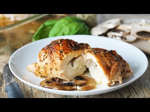 How To Make Stuffed Herbed Chicken Breasts