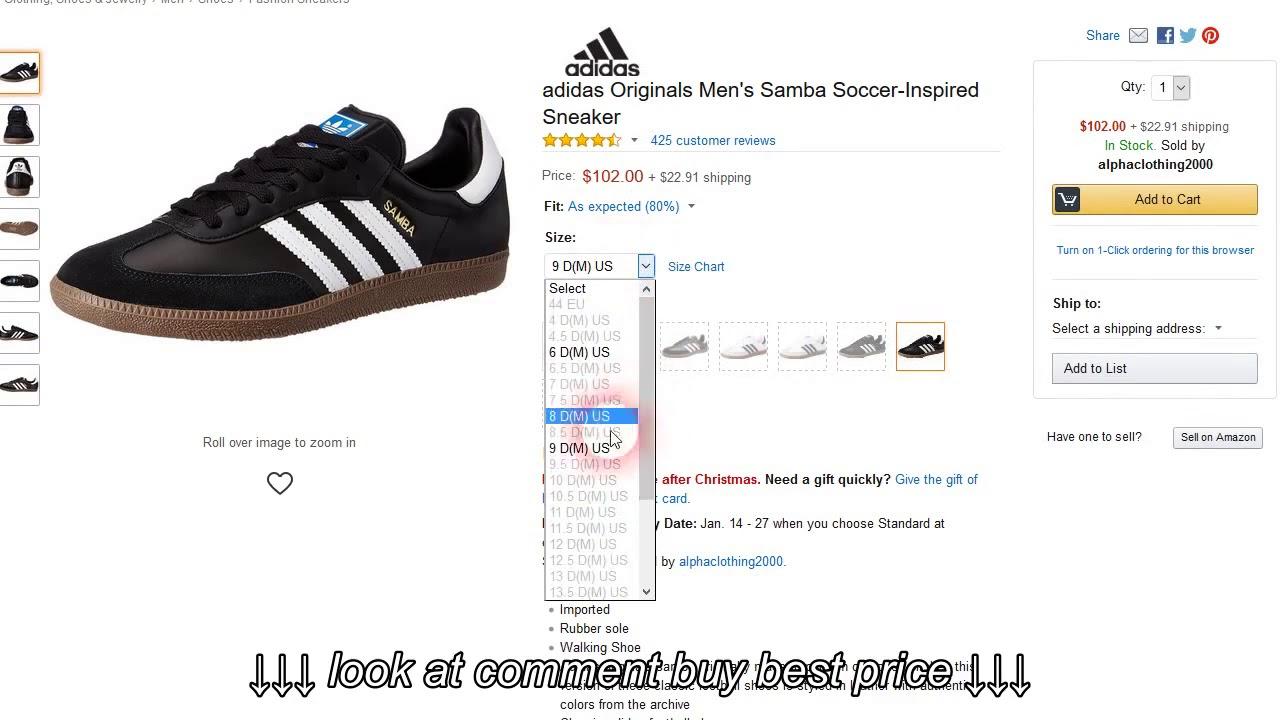 e417d204c Adidas Men s Samba Classic Soccer Shoe Discount no coupon code needed