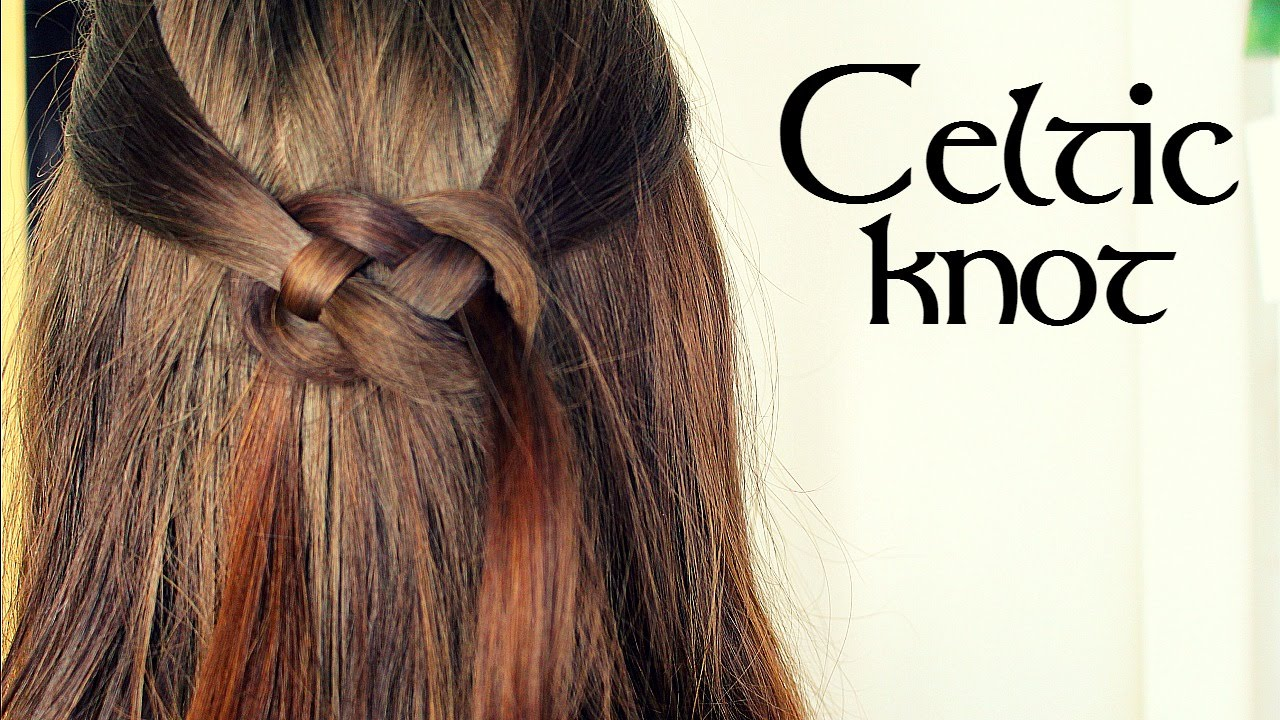 Celtic Knot Hair Tutorial Youtube