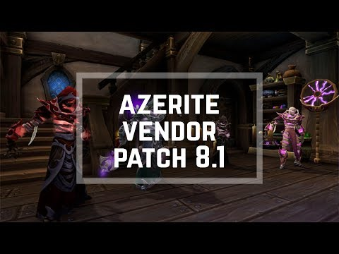 Patch 8 1 Azerite Gear Currencty Titan Residuum WoW: Battle