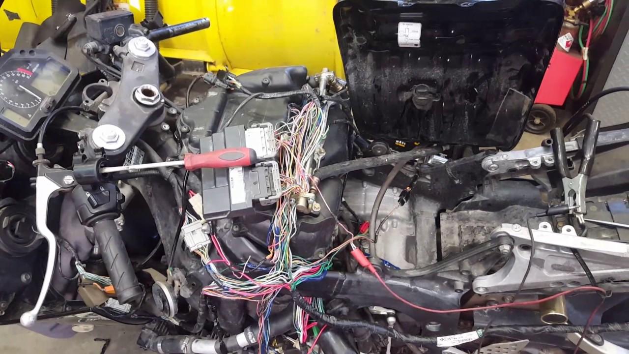 1996 Honda Fuse Box 2004 Honda Cbr600rr No Start Fix No Fuel Prime Youtube