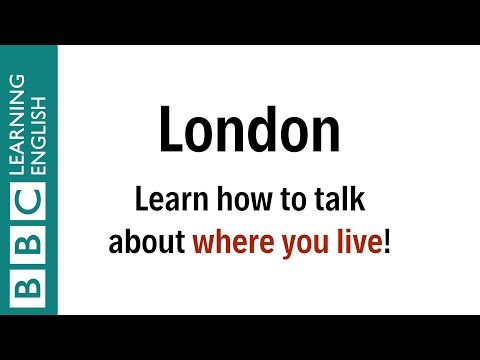 How do real people talk about the place where they live?