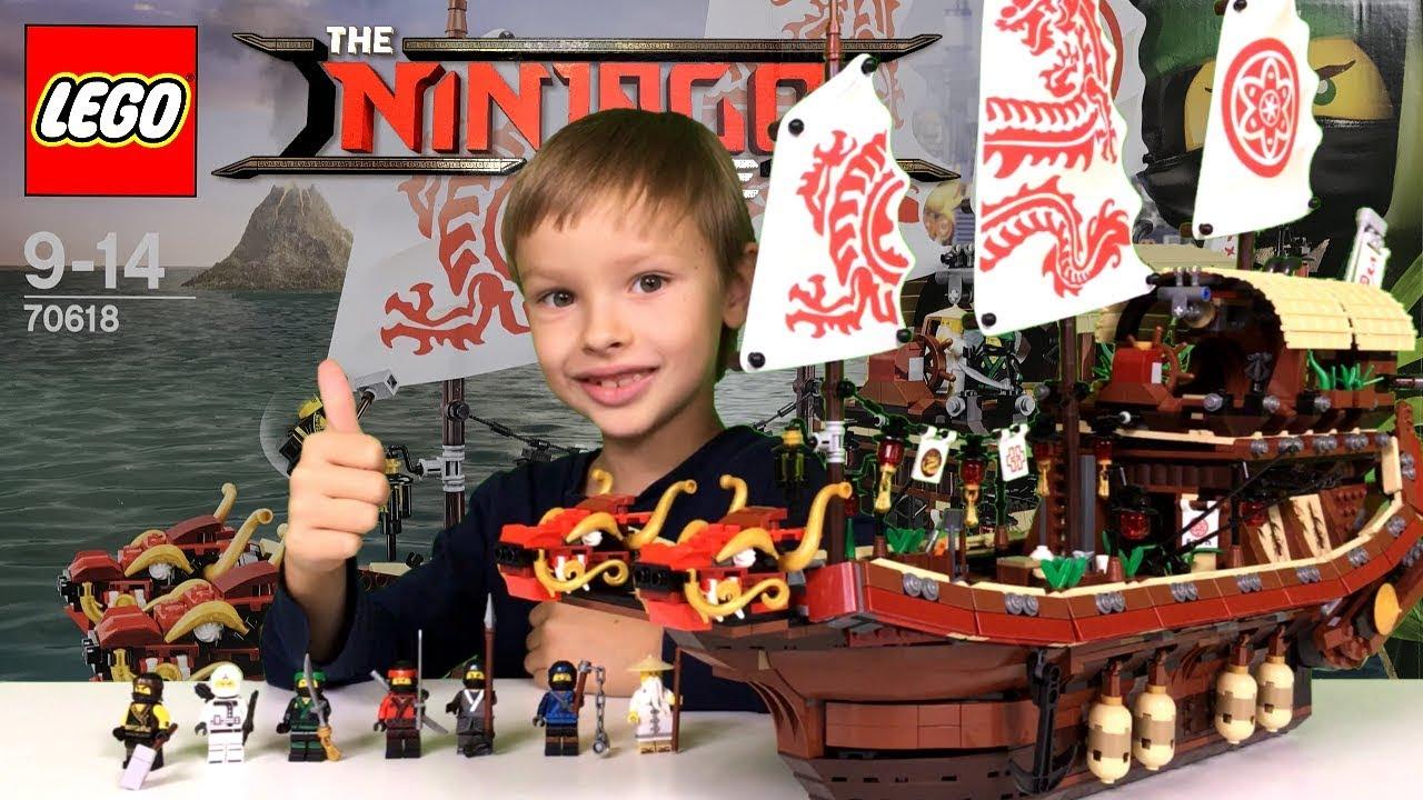 Perła Przeznaczenia Recenzja Lego Ninjago Movie 70618 Nowość