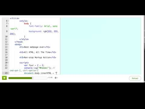 Putting JS In A Webpage | HTML/JS: Making Webpages Interactive | Computer Programming | Khan Academy
