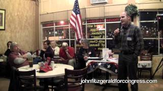 John addresses Solano County Tea Party