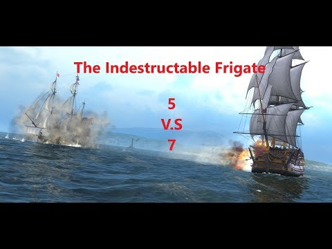 The Indestructible Frigate  Naval Action Fleet Mission 5 V.S. 7