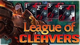 LEAGUE OF CLEAVERS RETURNS?! 110% CDR AND NOT EVEN TROLLING?? - Full AD Black Cleaver Darius Top