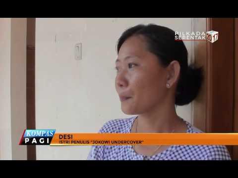 "Istri Penulis ""Jokowi Undercover"" Serahkan Kasus Ke Polisi"