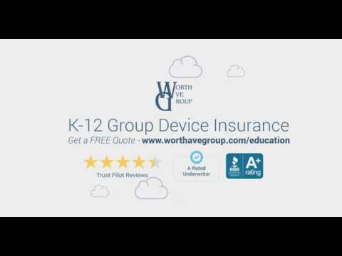 K-12 Group Laptop & Tablet Insurance by Worth Ave. Group
