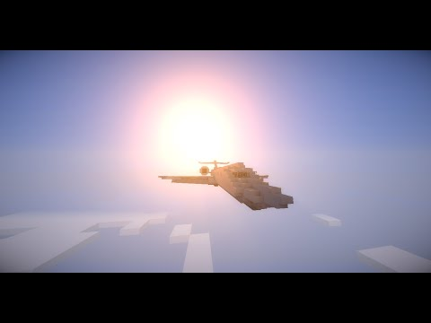 Minecraft: Падение Самолета #3